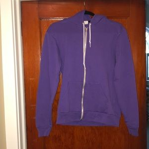 American Apparel zip up fleece